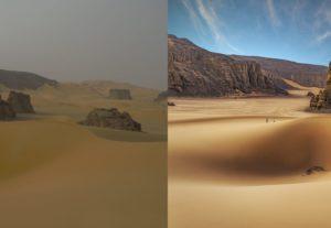 2403معالجة وتعديل صور الطبيعة مع امكانية اضافة السماء او حذف اجزاء من الصورة واستبدالها