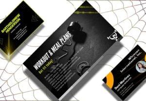 3504تصميم بطاقة أعمال Business Card