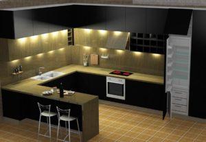 3795تصميم مطابخ عصرية بجودة عالية 5$ لكل 5متر